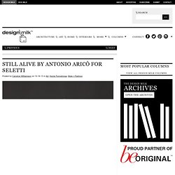 Still Alive by Antonio Aricò for Seletti