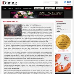 STILL CHEAP BUT NOT FOR LONG – Bangkok Best Dining