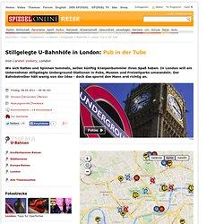 Stillgelegte U-Bahnhöfe in London: Pub in der Tube - SPIEGEL ONLINE - Nachrichten - Reise