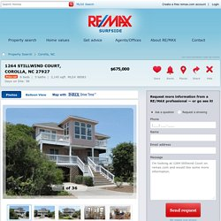 1264 Stillwind Court Corolla, NC 27927 For Sale - RE/MAX