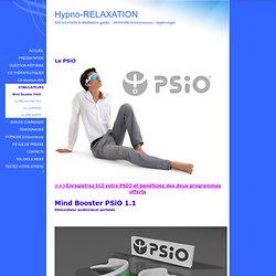 Mind Booster Psio stimulateur audio-visuel et synchronisation des ondes cérébrales Mind machine, stimulateur cérébral audio-visuel