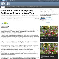 Deep Brain Stimulation Improves Parkinson's Symptoms Long-Term