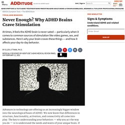Brain Stimulation and ADHD / ADD: Cravings and Regulation