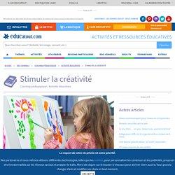 Stimuler la créativité