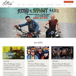 Sting.com - Official Site and Official Fan Club for Sting home