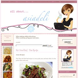 Thai Recipe ~ asiadeli