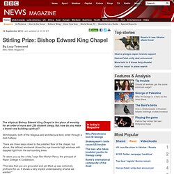 Stirling Prize: Bishop Edward King Chapel