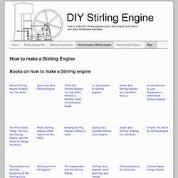 How to make a Stirling Engine easily build your DIY Stirling Engine