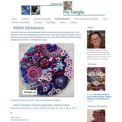 Stitch Dictionary - Pintangle