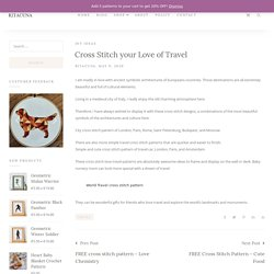 Cross Stitch your Love of Travel