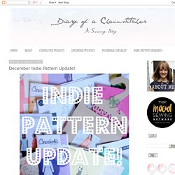 December Indie Pattern Update!