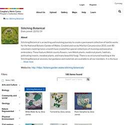 Stitching Botanical: Marilyn Caruana