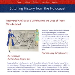 Stitching History from the Holocaust