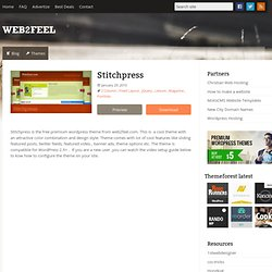 Stitchpress : web2feel.com – Free wordpress themes – Tutorials – Tips and tricks