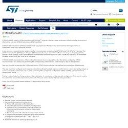 M32CubeMX STM32Cube initialization code generator (UM1718)