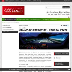 CEA Tech - STMICROELECTRONICS - STHORM P2012