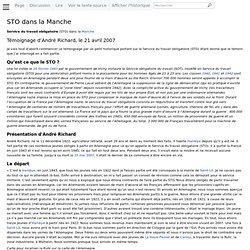 STO dans la Manche - WikiManche