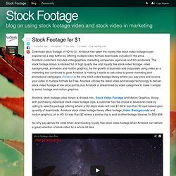 Stock Footage for $1 - Stock Footage