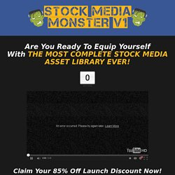 Stock Media Monster V1