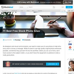 11 Best Free Stock Photo Sites
