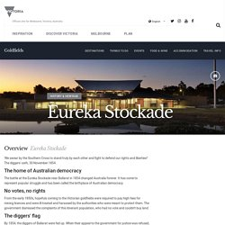 Eureka Stockade, Goldfields, Victoria, Australia