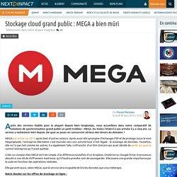 Stockage cloud grand public : MEGA a bien mûri