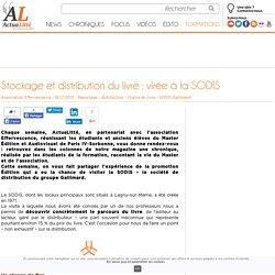 Stockage et distribution du livre : virée à la SODIS