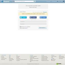 free file sharing and storage - Login