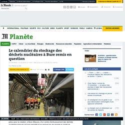 Stockage des déchets nucléaires à Bure : le calendrier et la sûreté en question