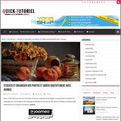 Stocker et organiser vos photos et vidéos gratuitement avec Joomeo.
