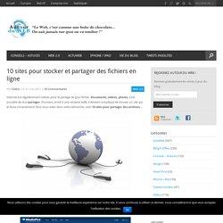 10 sites pour stocker et partager des fichiers en ligne