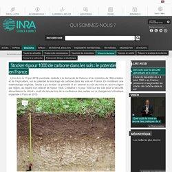 Stocker 4 pour 1000 de carbone dans les sols français