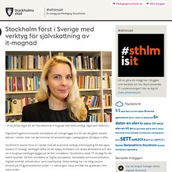Stockholm först i Sverige med verktyg för självskattning av it-mognad