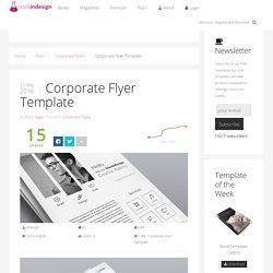 StockInDesign Corporate Flyer Template - StockInDesign