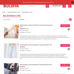 Want To Shop Stockings For Women's Online In India? Visit Boldiva!