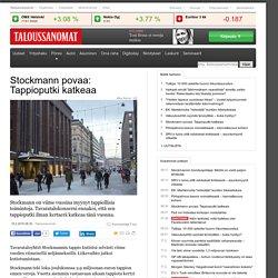 Stockmann povaa: Tappioputki katkeaa