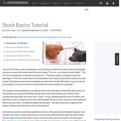 Stocks Basics: Introduction
