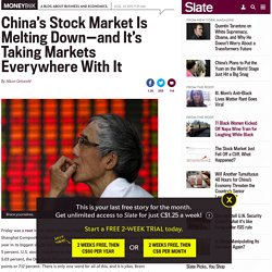 Stocks down after China market crash: Why the turmoil is spreading across the globe.