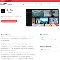 Stocksy : un moteur de recherche d'images et de vidéos authentiques - BDM/tools