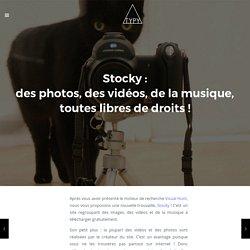 Stocky : des photos, des vidéos, de la musique, toutes libres de droits !