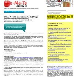 Welche Produkte benötigt man für die 21 Tage Stoffwechselkur mit Vitalstoffen von LifePlus? - To-Ma-Te News