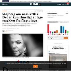 Støjberg om nazi-kritik: Det er kun rimeligt at tage smykker fra flygtninge