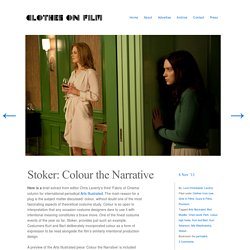 Stoker: Colour the Narrative