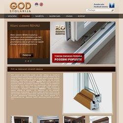 Stolarija GOD, PVC stolarija - REHAU, PVC sa teksturom drvenih dezena