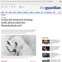 Is this the stomach-turning truth about what the Neanderthals ate?