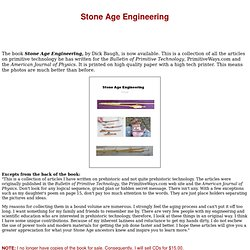 Stone Age Engineering
