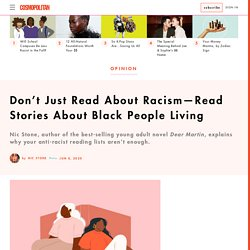 Nic Stone: Read Books About Black People Living—Not Just Racism