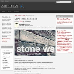 Stone Placement Tools
