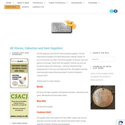UK Stone and Gem Suppliers