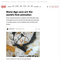 Stone Age cave art: the world's first animation